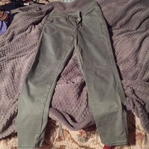 AE jeans -army green worn twice